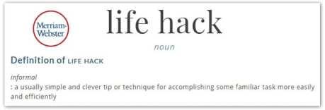life-hack-definition